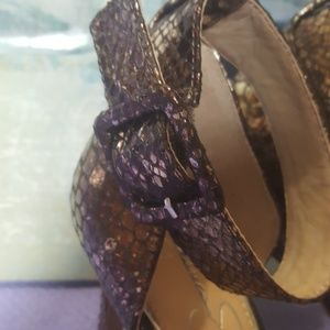 Jessica Simpson Shoes - Jessica Simpson ankle strap heels